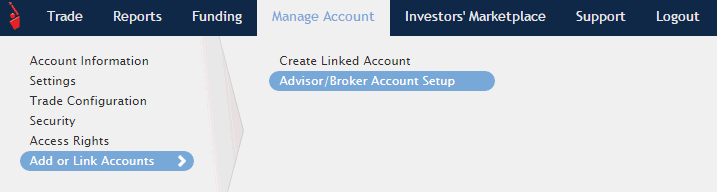Add or Configure accounts screenshot